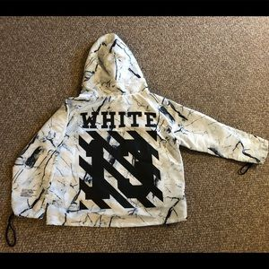 RARE Authentic OFF WHITE Windbreaker